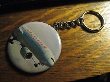 Air Canada Boeing 777 Logo Advertisement Keychain Backpack Purse Clip Ornament