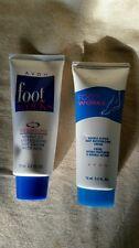 Avon fancy feet and footwork moisturizing duo