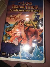 ☀️ The Land Before Time V: The Mysterious Island VHS Animated Movie Clamshell