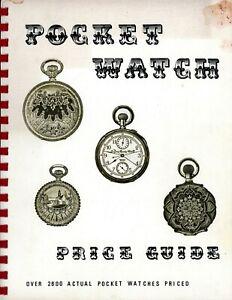 Antique Pocket Watches - Elgin Hamilton Howard Waltham Swiss Etc / Book + Values