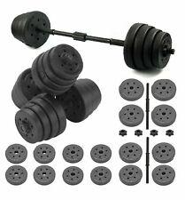 30KG Adjustable Dumbbells Free Weights Set Gym Dumbbell Pair Fitness Workout