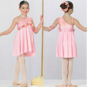 Child Small Dance Costume Lyrical Ballet Dress New Competition TIME TO DREAM