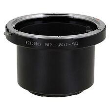 Fotodiox Objektivadapter Pro Mamiya 645 (M645) Linse für Sony E-Mount Kamera