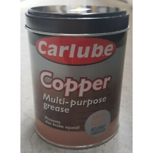 Carlube Copper Grease Multi Purpose 500g Complete with Free Delivery