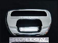 MITSUBISHI TRITON ML MN L200 ANIMAL WARRIOR 2005-14 CHROME TAILGATE HANDLE COVER