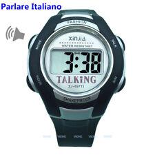 Italian Talking Watch Unisex for the Blind and Elderly Electronic Speak Watch