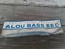 Vintage 3oz Alou Bass Eel,Saltwater Lures,Striper Lures,Trolling Lures