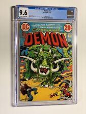 Demon 3 cgc 9.6 ow/w Dc Comics Jack Kirby 1972 006