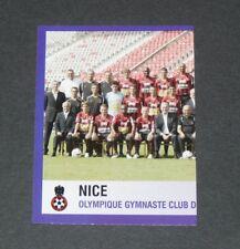 N°296 EQUIPE PART 1 OGC NICE OGCN NISSA RAY PANINI FOOTBALL FOOT 2006 2005-2006