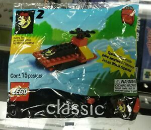 Lego set 2069 Classic Jet Boat McDonald's Happy Meal polybag from 1999
