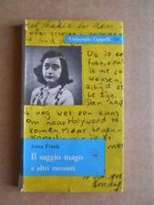 Il Saggio mago e altri racconti Anna Frank Universale Cappelli 1960 [G416]
