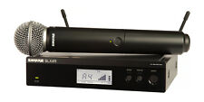 Shure BLX24R SM58 handheld microphone system 662-686M M17 NEW