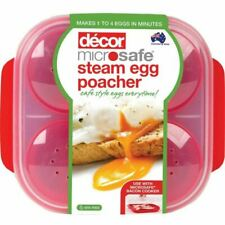 Decor Microwave Egg Poacher (for up to 4 Eggs) Postage