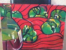 Curtis Barnes African American Artist  Original Art  Abstract Still Life