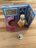 The Simpsons Nuclear Power Plant Playset WOS Playmates Radioactive Homer 100%