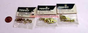 Perfect Parts~#417~Terminal Lugs~Brass-Solderless~8 Pieces/Pack~ X 3 Packs