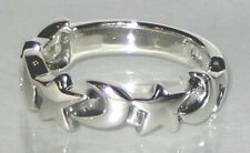 Sterling Silver moon/star ring Sizes 6  S616
