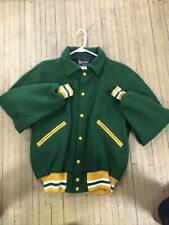 Vintage Butwin Letterman Jacket Size 44 Rare Lined Jacket Usa Made Wool Jacket