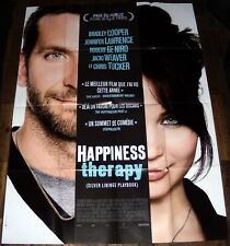 SiLVER LiNiNGS PLAYBOOK  Bradley Cooper Jennifer Lawrence  LARGE French POSTER