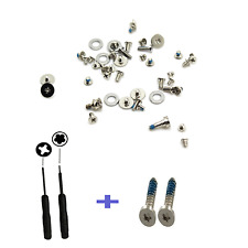 FULL REPLACEMENT SCREW SET + BOTTOM OUTER SCREWS + 2PC TOOLS FOR IPHONE 4S