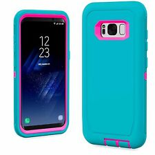 For Samsung Galaxy S8 / S8 Plus Defender Case Armor Fits Otterbox Defender Clip