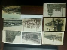 Various Old Railroad Post Cards York Pa, Other Places