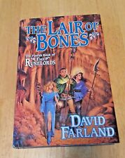 Runelords: The Lair of Bones 4 by David Farland (2003, Hardcover, 1st edition)