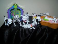 "Vintage ""Lot of 15 "" 101 DALMATION TOYS DISNEY Toys~~House & Barking Bed!!"