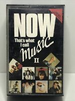 RARE ! Now Thats What I Call Music 2 Double Cassette Tapes. Original Now 2.