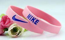 Nike Pink Elite Baller band rubber bracelet wristband BEST RATED ❤BREAST CANCER
