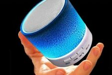 Music Mini Bluetooth Wireless Speaker LED with Stereo Sound