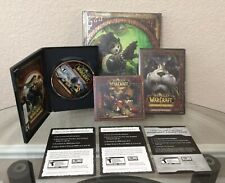 World Of Warcraft WoW Mists Of Pandaria Collectors Edition 2012 Windows Mac