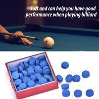 50Pcs/set Billiard Pool Snooker Tips Hardness in  Cue Stick Accessories