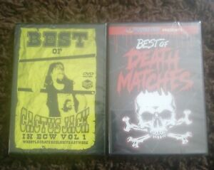 Wrestle Crate Uk Pro Wrestling Crate Dvds Mick Foley Death Matches Ecw CZW