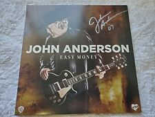 John Anderson Easy Money Autographed Double Lp Grand Ol Opry Country Near Mint