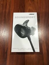 Bose SoundSport Wireless Headphones, Black New!!!