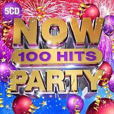 NOW 100 Hits PARTY, 5 CD Set Pre-Sale 29/11/2019
