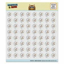 Ragdoll Tiffany Cat Kitten Tea Cup Ride Puffy Bubble Scrapbooking Sticker Set