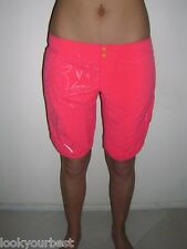 New Billabong Shorts Orange Boardshorts Sz 10 Beach Gym Sport Swim Surf Boardies
