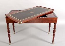 Table Tric-trac d'époque Restauration acajou table à jeux