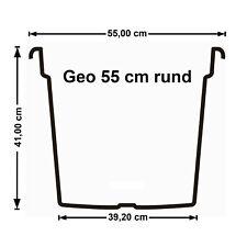 Euro3plast Kübel Geo Dm.55cm Terracot. Terracotta