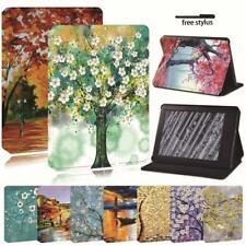 Soporte de tableta de Pintura Cubierta Estuche Para Amazon Kindle 8th 10th Paperwhite 1/2/3/4