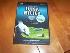VERDI LUISA MILLER Italian Opera Classic Musical Performance SEALED DVD NEW