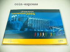 *** EURO KMS LUXEMBURG 2004 BU Post Postsatz Kursmünzensatz Luxembourg Coin Set