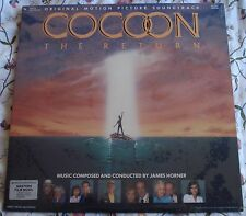 COCOON - THE RETURN (James Horner) rare original factory sealed stereo lp (1988)