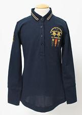 LA MARTINA Poloshirt marine lang Gr. 6, 8, 10, 12, 14 NEU %SALE%