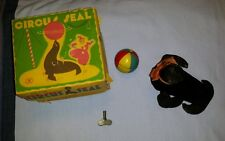Vintage Modern Toys Japan Circus Seal windup toy with original box