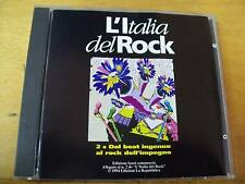 L'ITALIA DEL ROCK CD RIBELLI-CASELLI-MARIO SCHIFANO