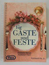 Thea Kochbuch Für Gäste und Feste Menü Nr. 8