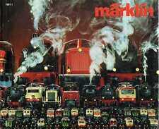 Catalogo Marklin 1981 Italia